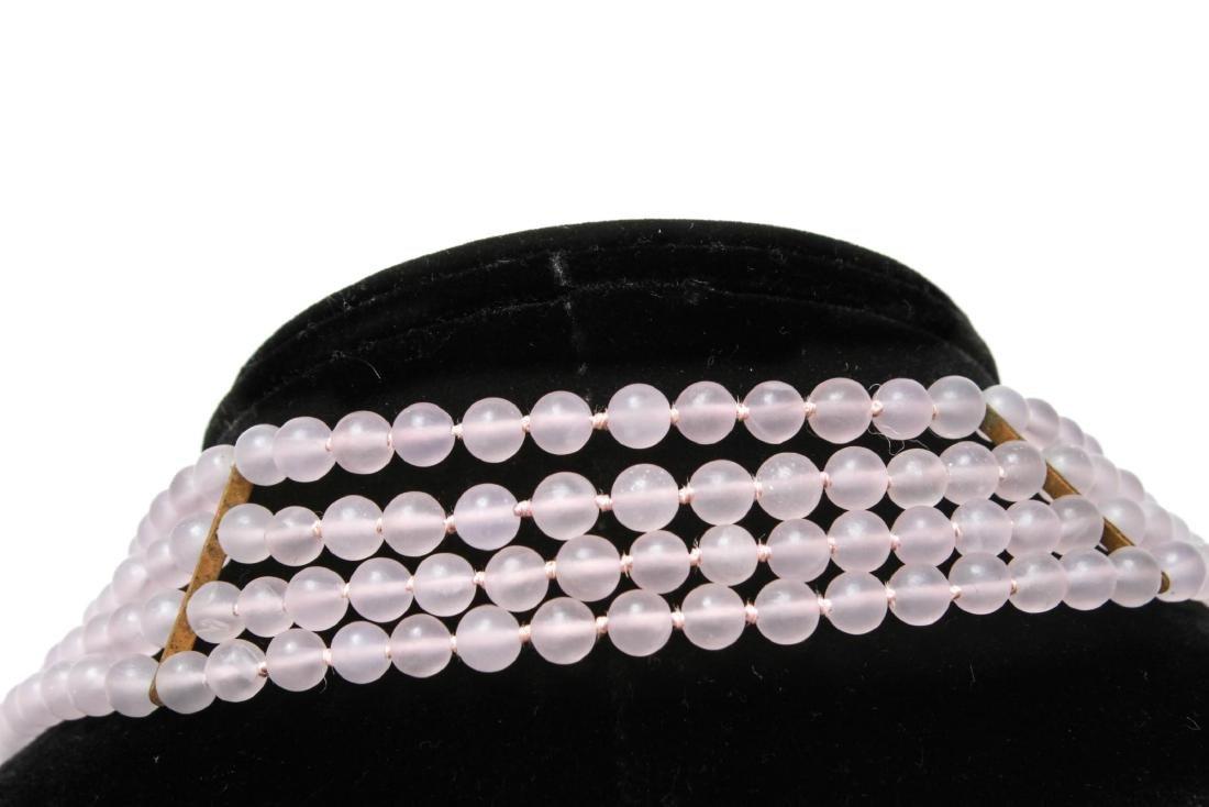 Amethyst Silver Vermeil Necklace & Bracelet Set - 4