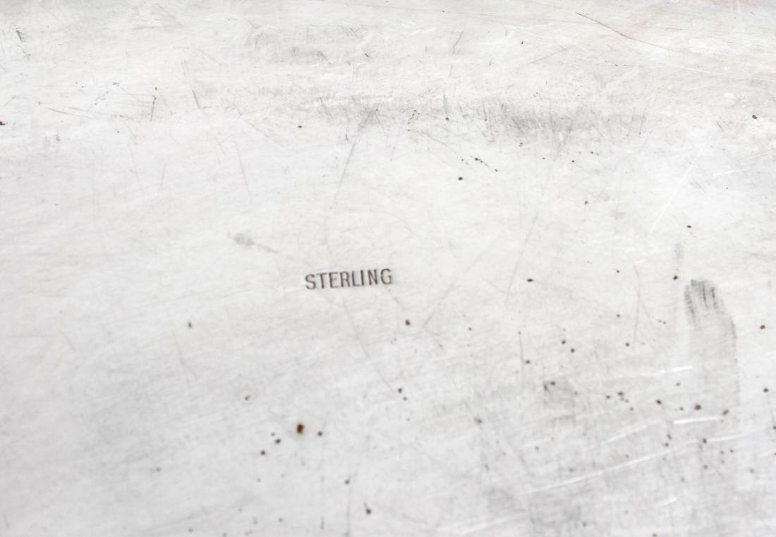 Sterling Silver Lobed Serving Platter - 4
