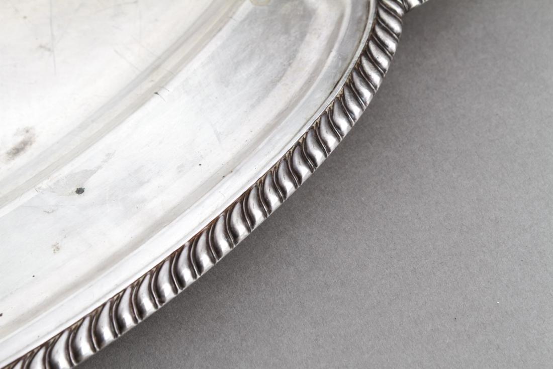 Sterling Silver Lobed Serving Platter - 5