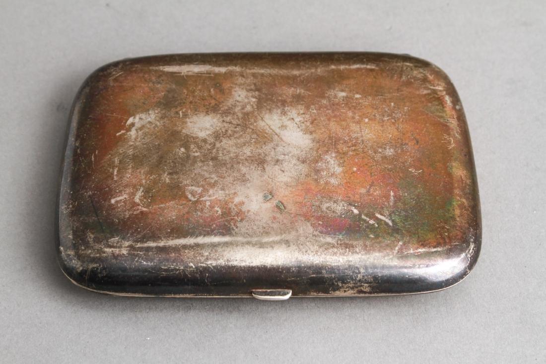 Continental Silver Cigarette Case Coblenz Germany