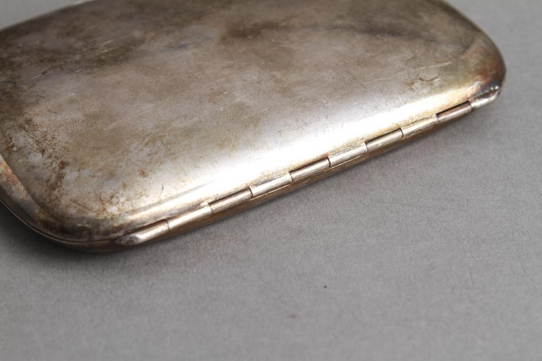 Continental Silver Cigarette Case Coblenz Germany - 4