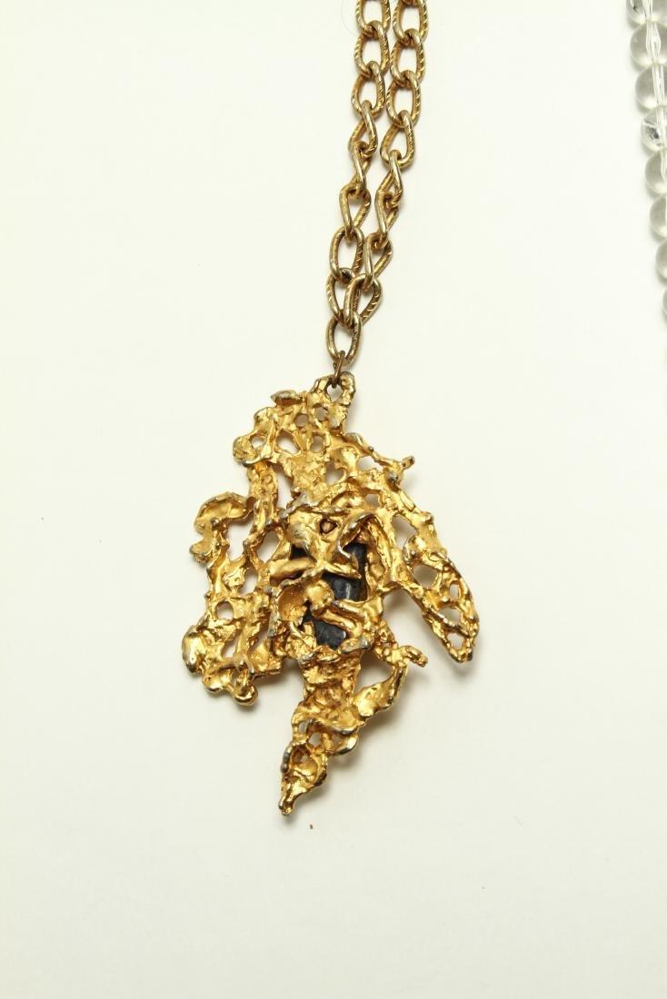 Ladies' Vintage Costume Jewelry Necklaces 10 Pcs. - 6
