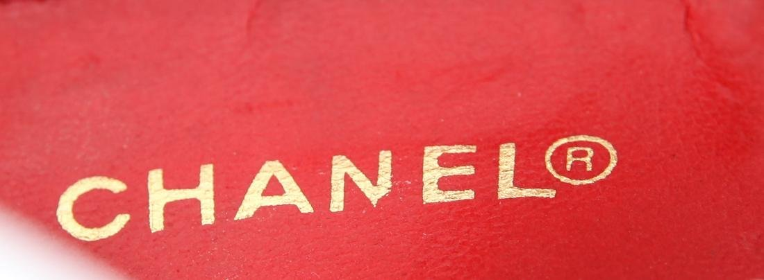 Chanel Vintage Red Leather Shoulder Bag - 9