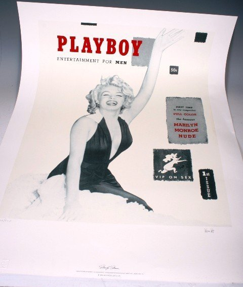 3: Marilyn Monroe's First Cover of Playboy