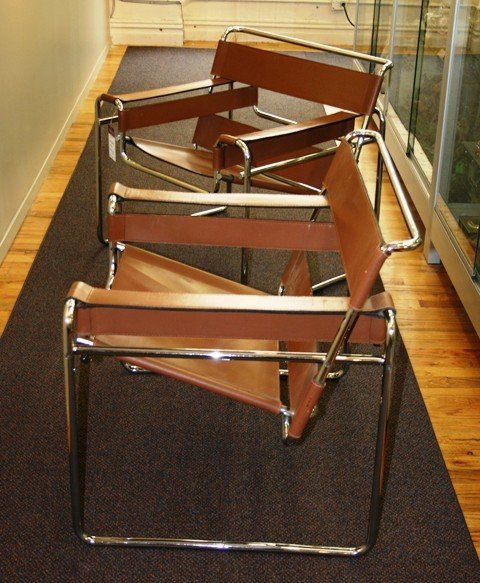 17: Original Pair of Knoll Wassilly Eames Era  Chairs