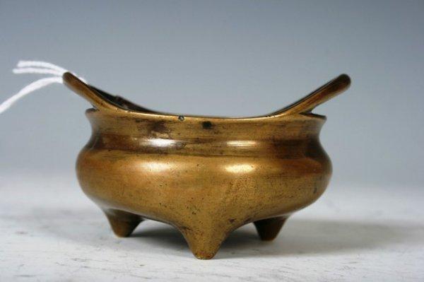 20: 18th C. Chinese Bronze Censer