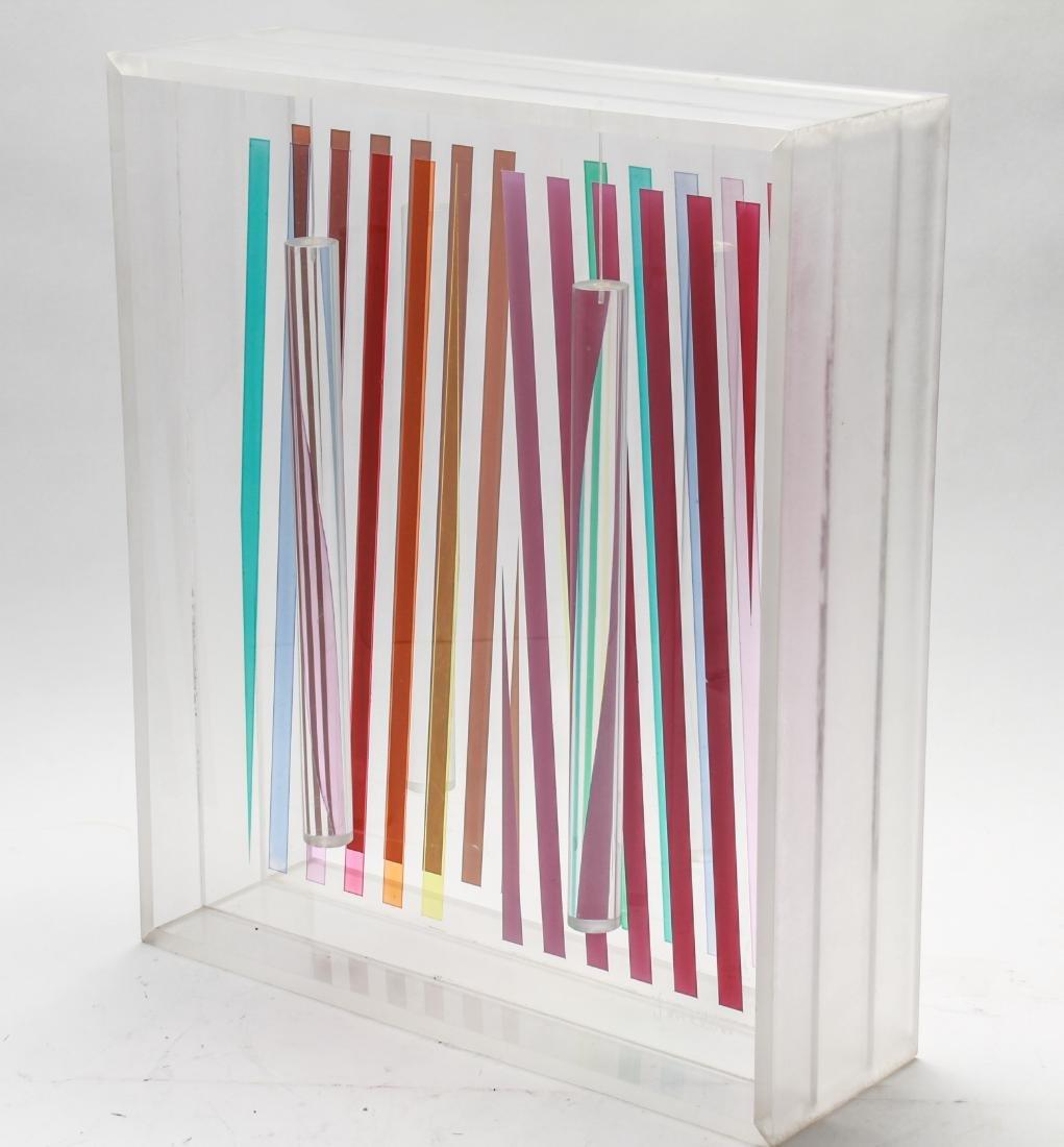 Leonard Janklow Kinetic Art Sculpture Mixed Media - 2