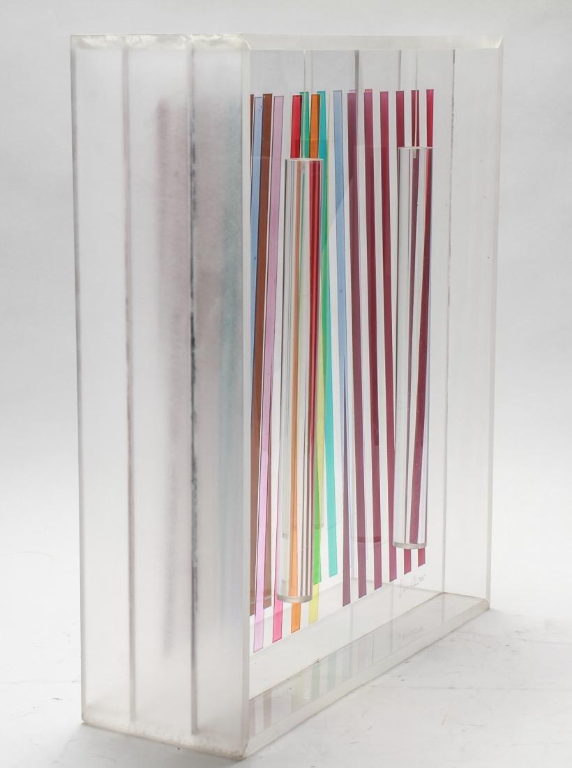 Leonard Janklow Kinetic Art Sculpture Mixed Media - 3