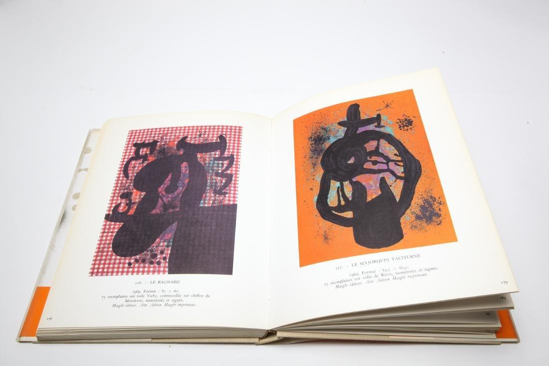 Joan Miro Lithograph Catalogue Raisonne, 3 Volumes - 10