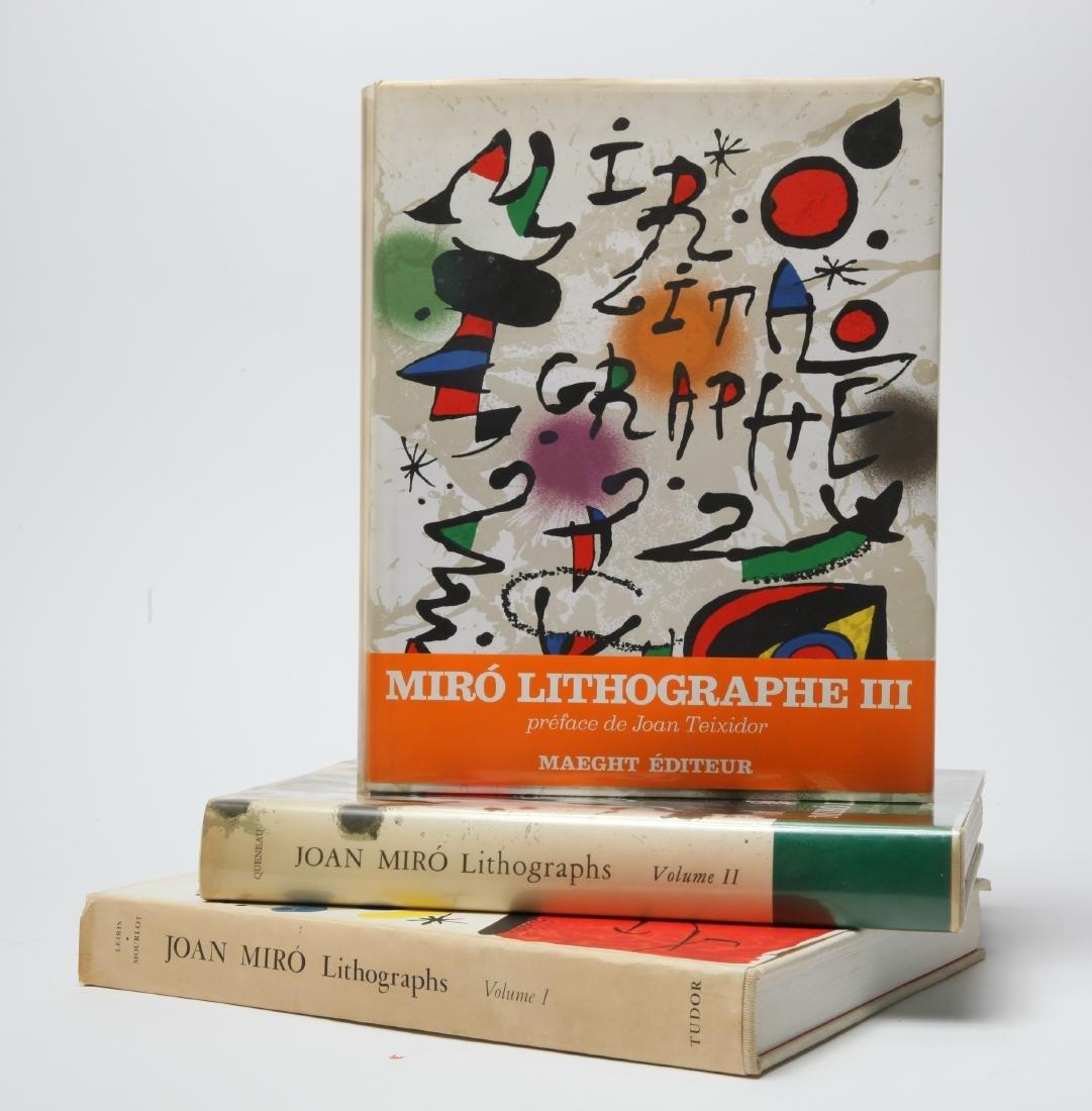 Joan Miro Lithograph Catalogue Raisonne, 3 Volumes - 3