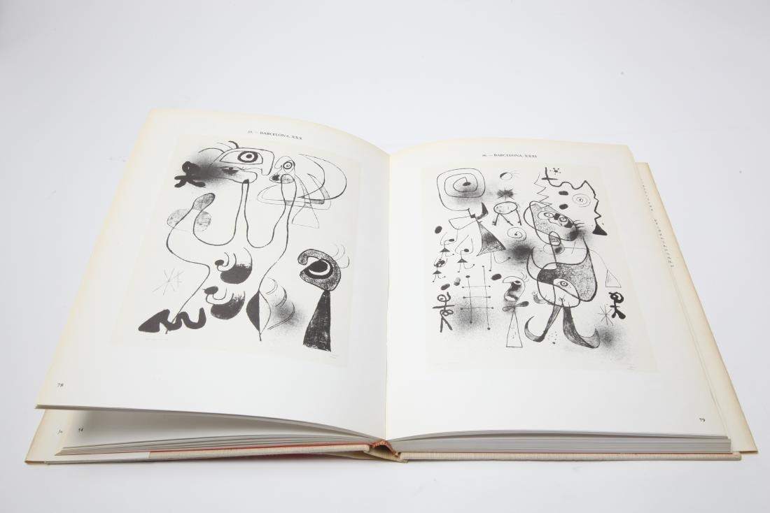 Joan Miro Lithograph Catalogue Raisonne, 3 Volumes - 4