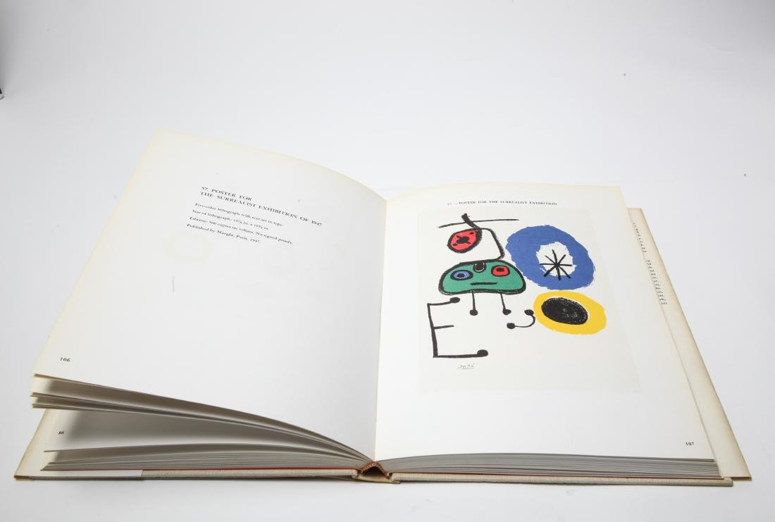Joan Miro Lithograph Catalogue Raisonne, 3 Volumes - 5