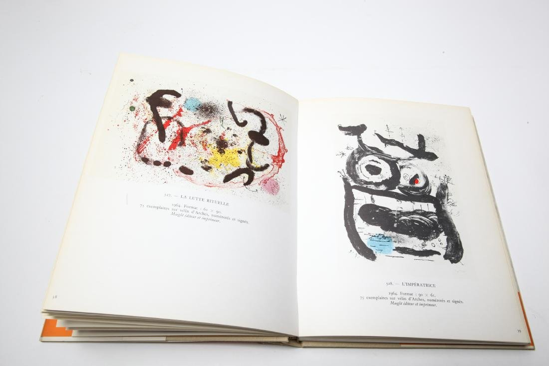 Joan Miro Lithograph Catalogue Raisonne, 3 Volumes - 8
