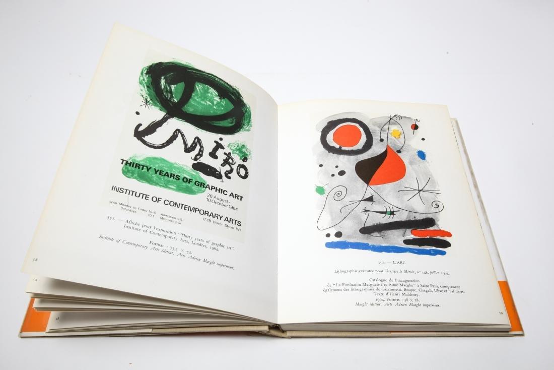 Joan Miro Lithograph Catalogue Raisonne, 3 Volumes - 9