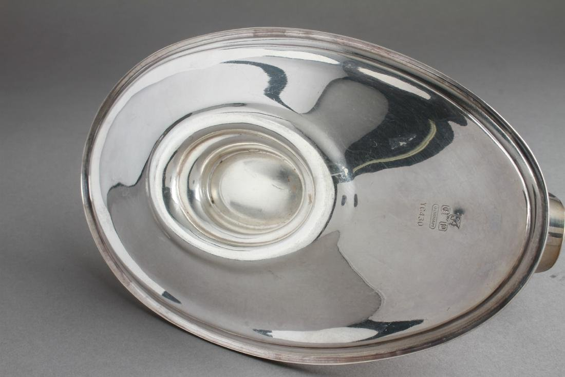 Gorham Sterling Silver Sauce Boat w Underplate - 5