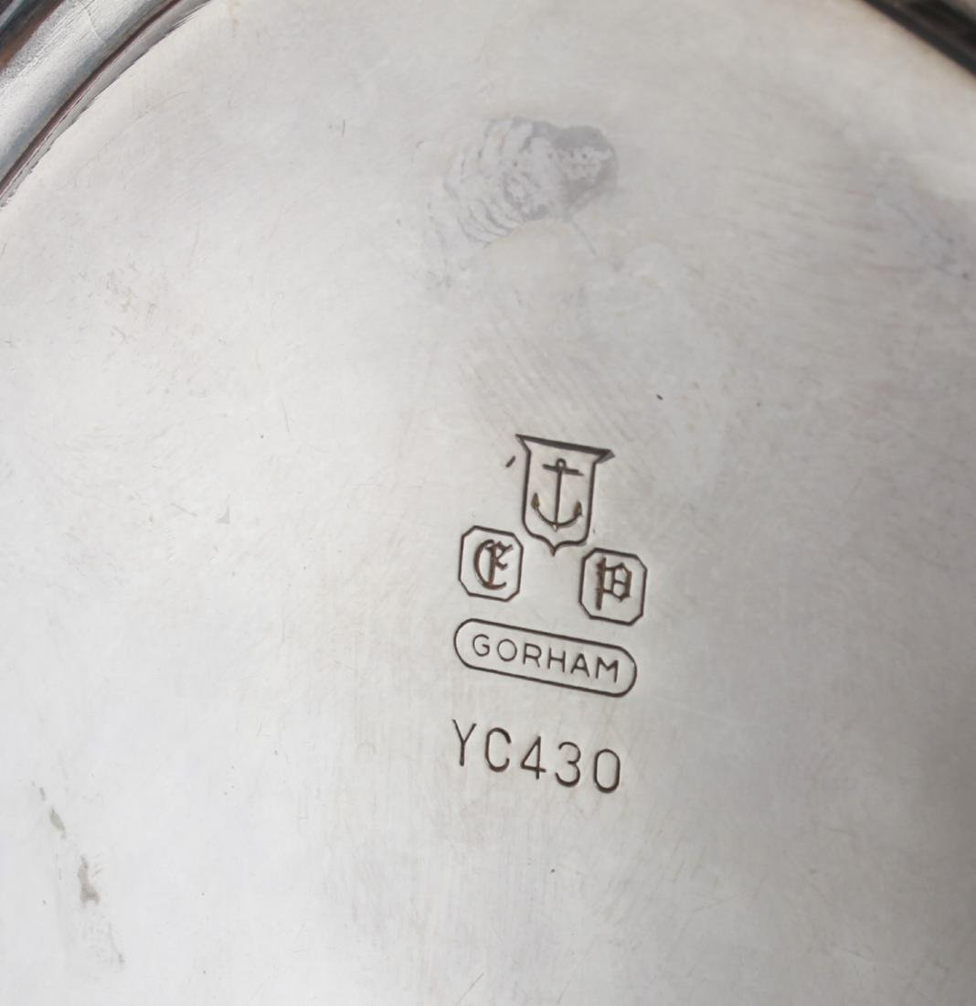 Gorham Sterling Silver Sauce Boat w Underplate - 6