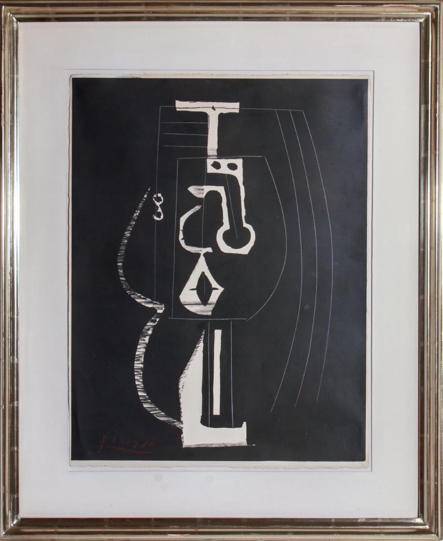 """Pablo Picasso """"Composition"""" Lithograph 1948"""