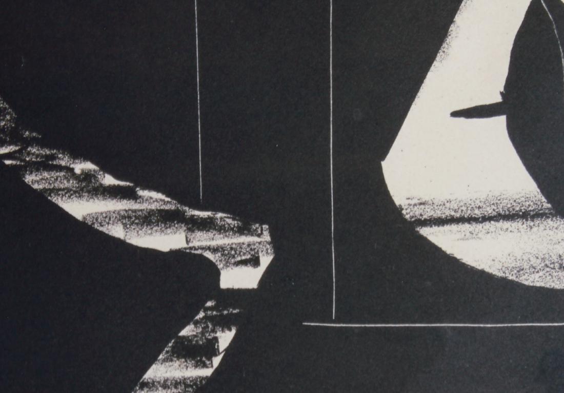 """Pablo Picasso """"Composition"""" Lithograph 1948 - 3"""