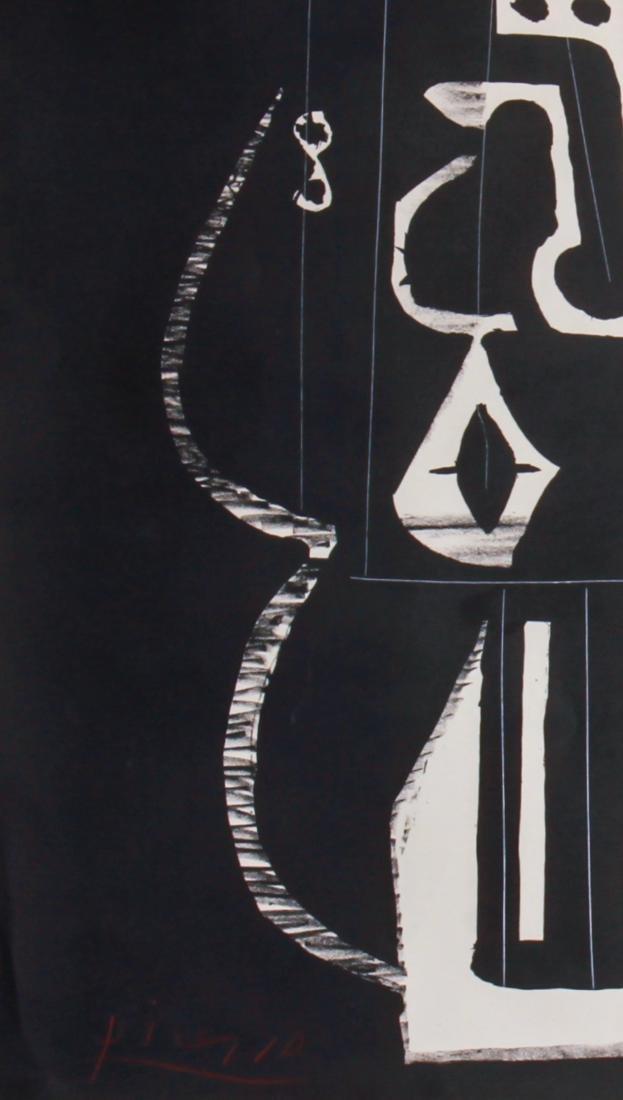 """Pablo Picasso """"Composition"""" Lithograph 1948 - 6"""