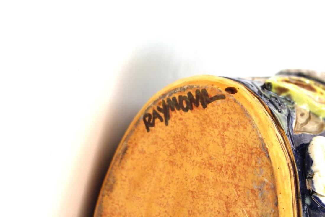 Postmodern Memphis Manner Art Pottery Covered Urn - 9