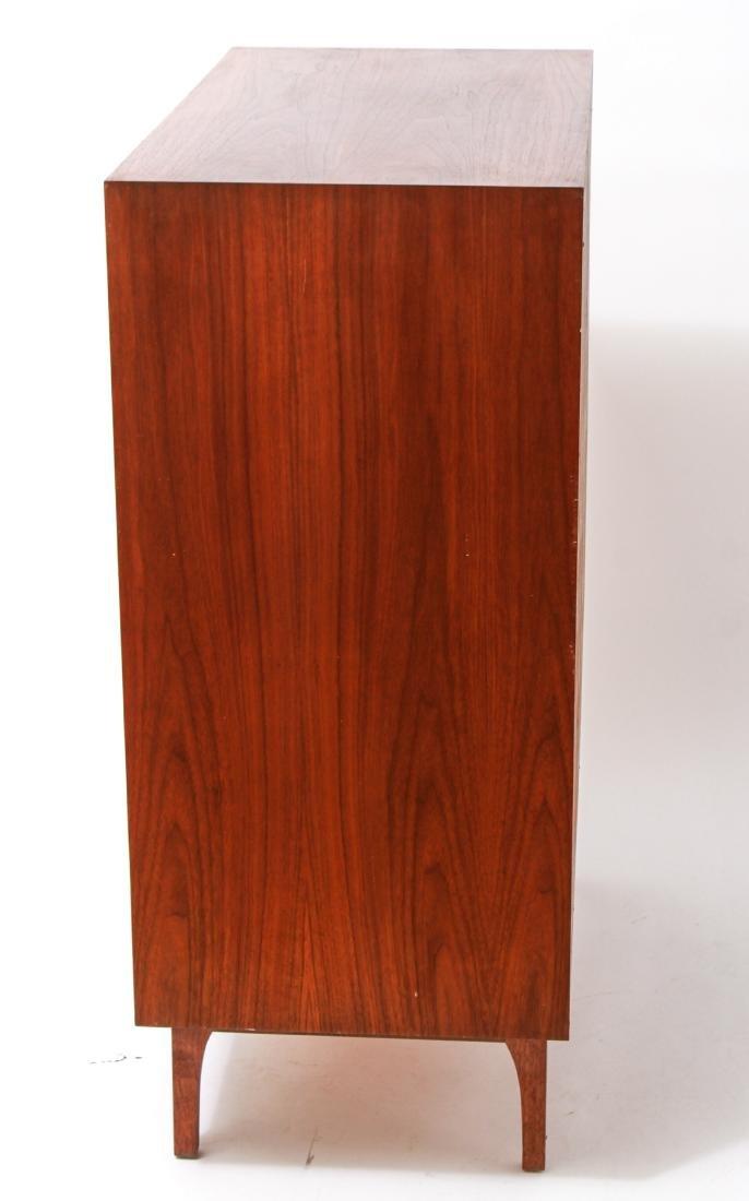 Mid-Century Modern Walnut Chest of Drawers - 5