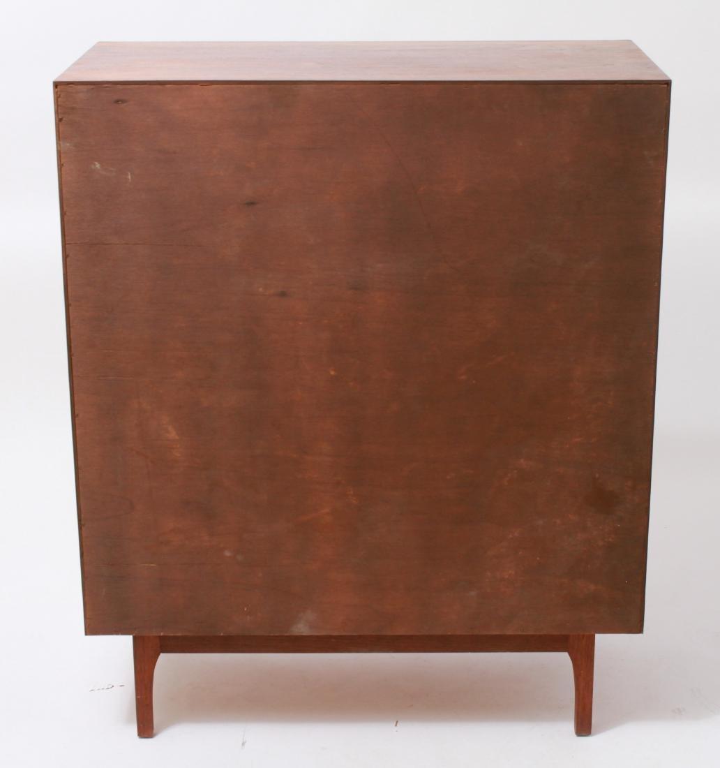Mid-Century Modern Walnut Chest of Drawers - 6