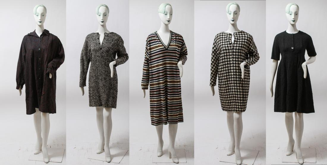 Ladies' Designer Vintage Garments incl. CK, 5 Pcs.
