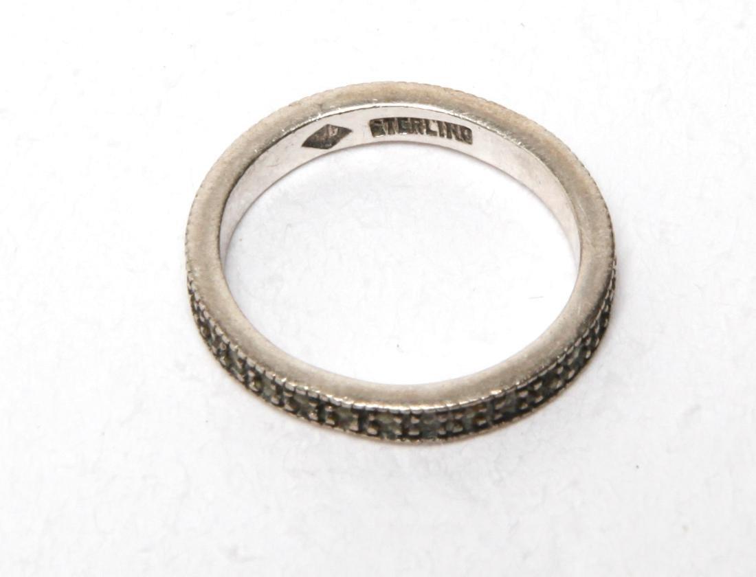 Ladies' Costume Jewelry Sterling Rings Group of 10 - 7