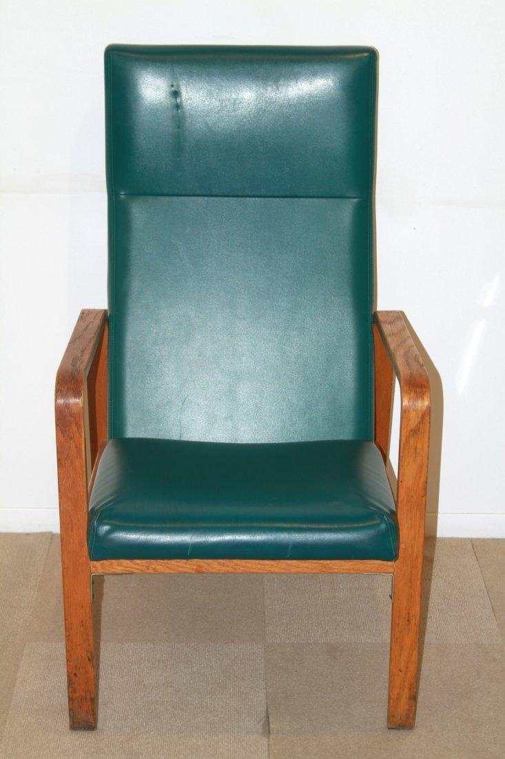 Nemschoff Modern Oak Bentwood Open Armchair