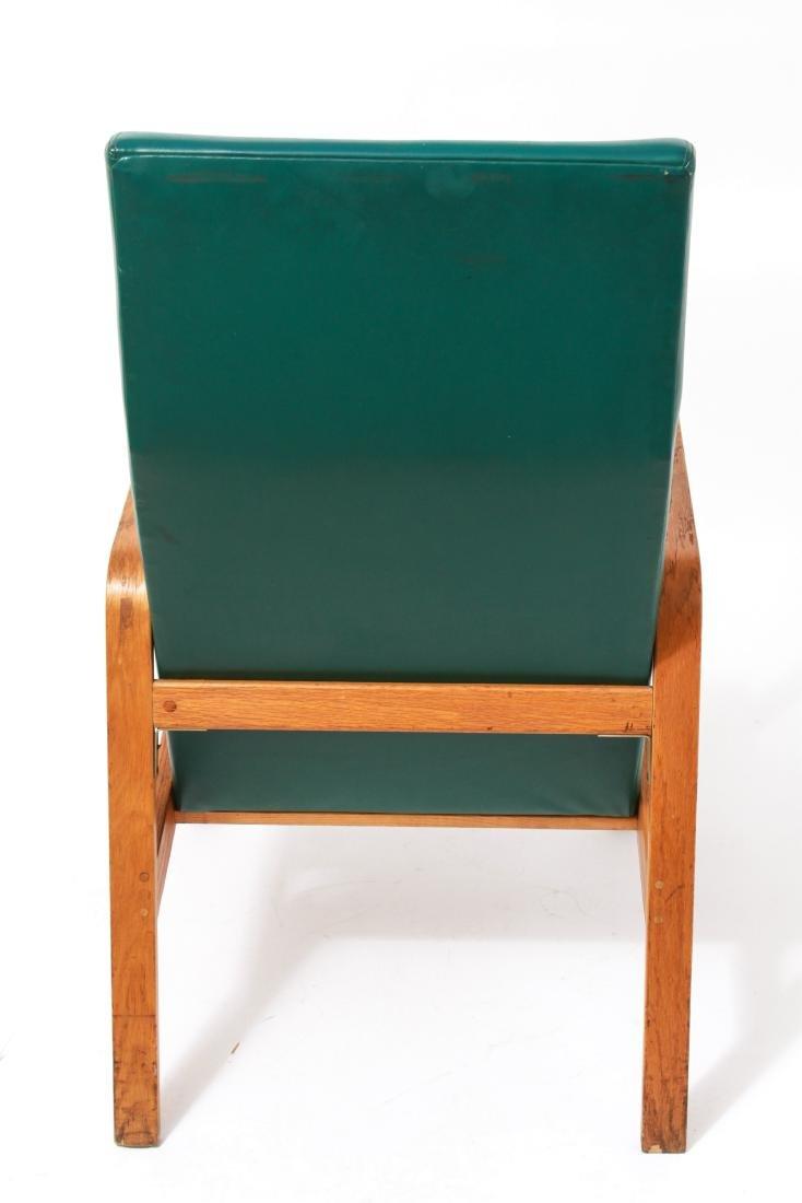 Nemschoff Modern Oak Bentwood Open Armchair - 3