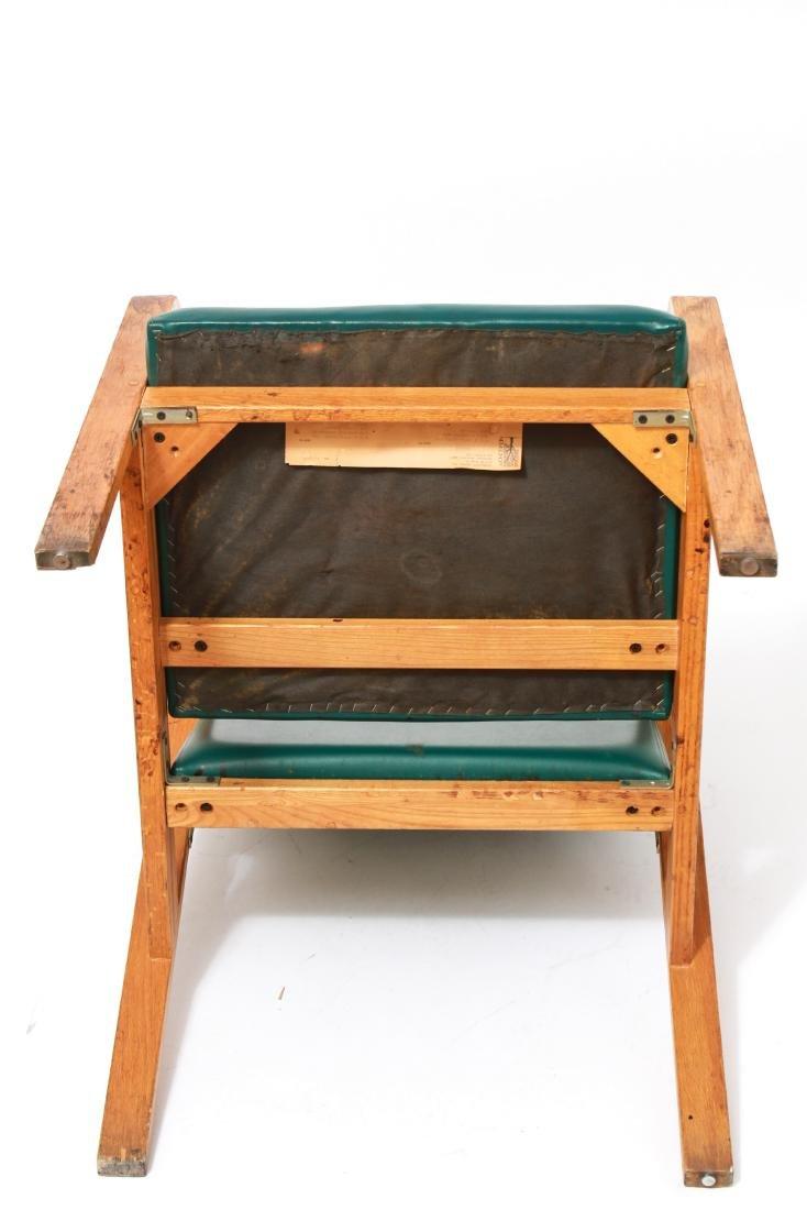 Nemschoff Modern Oak Bentwood Open Armchair - 5