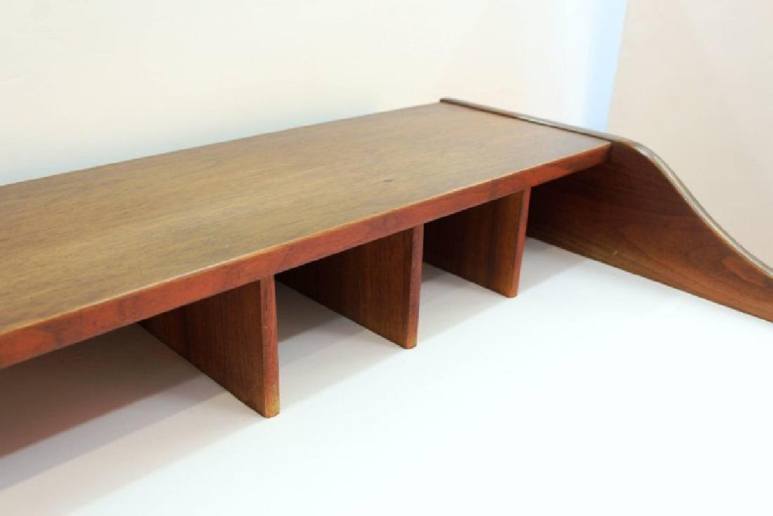 Mid-Century Modern Teak Writing Desk - 4