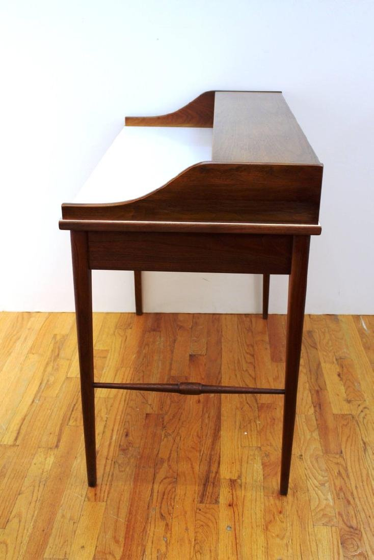 Mid-Century Modern Teak Writing Desk - 8