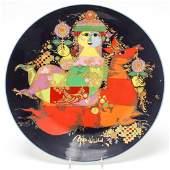 Bjorn Wiinblad for Rosenthal Porcelain Charger