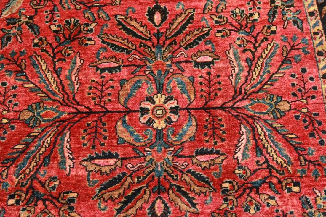 """Sarouk Persian Carpet 3' 6"""" x 5' 2"""" - 2"""