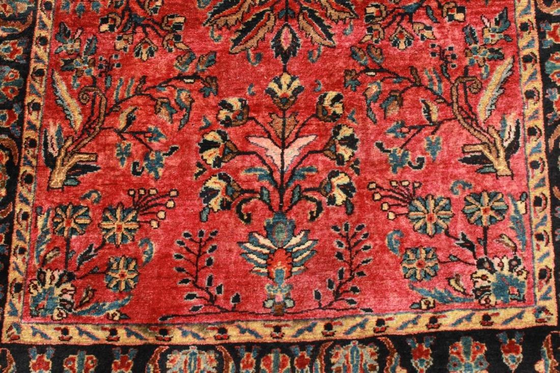 """Sarouk Persian Carpet 3' 6"""" x 5' 2"""" - 3"""