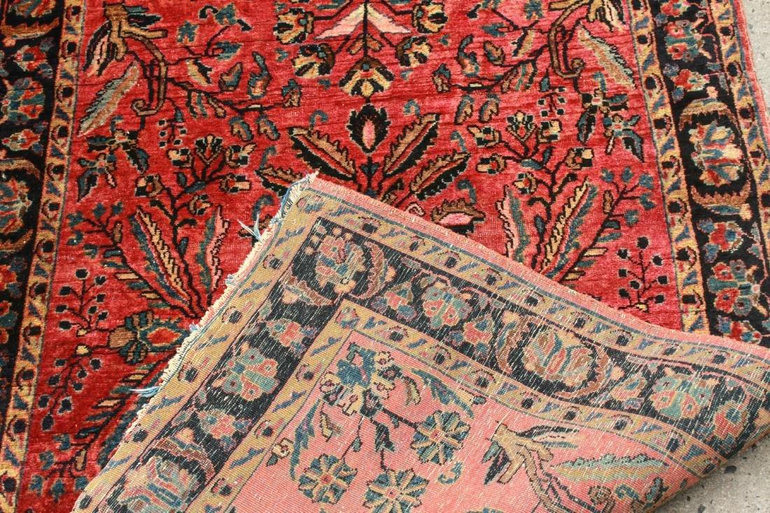 """Sarouk Persian Carpet 3' 6"""" x 5' 2"""" - 4"""