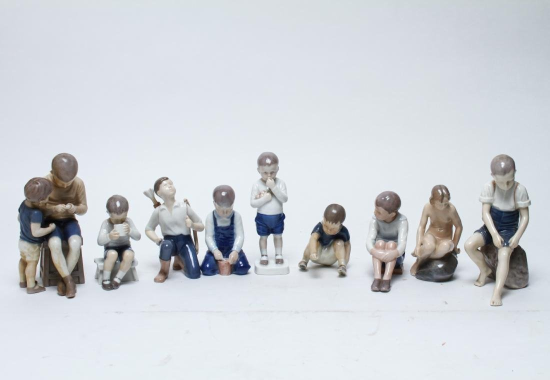 Bing & Grondahl & Royal Copenhagen Figurines, 9