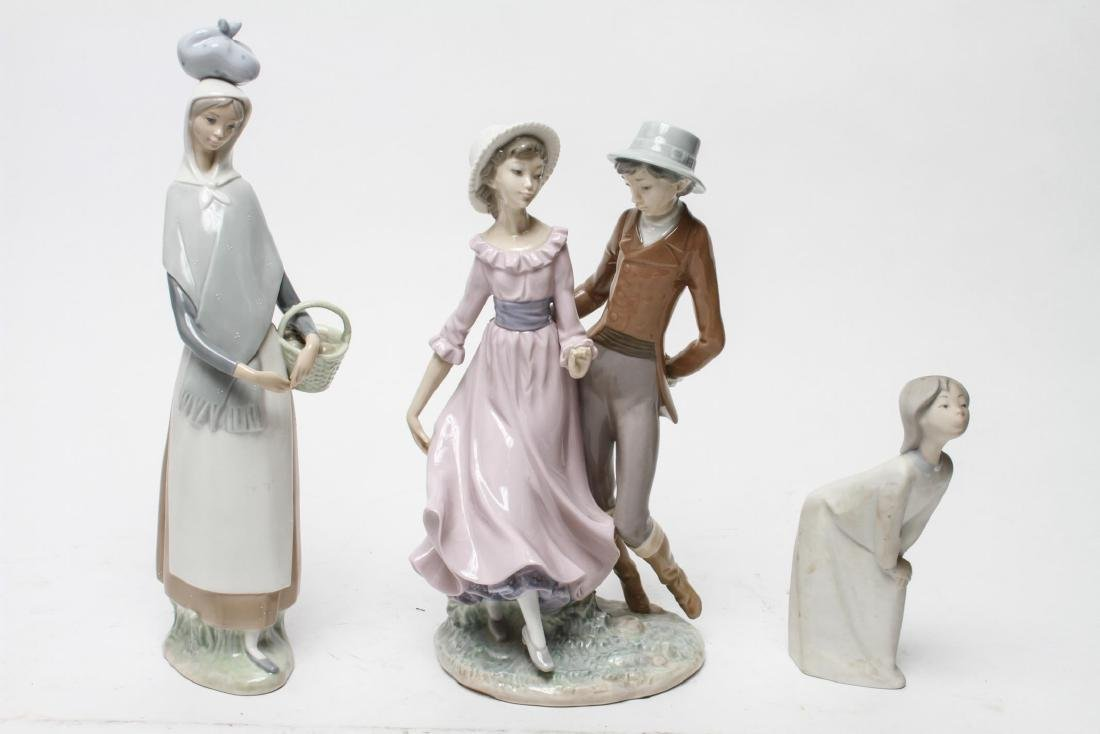 Lladro Porcelain Figurines, Group of 3