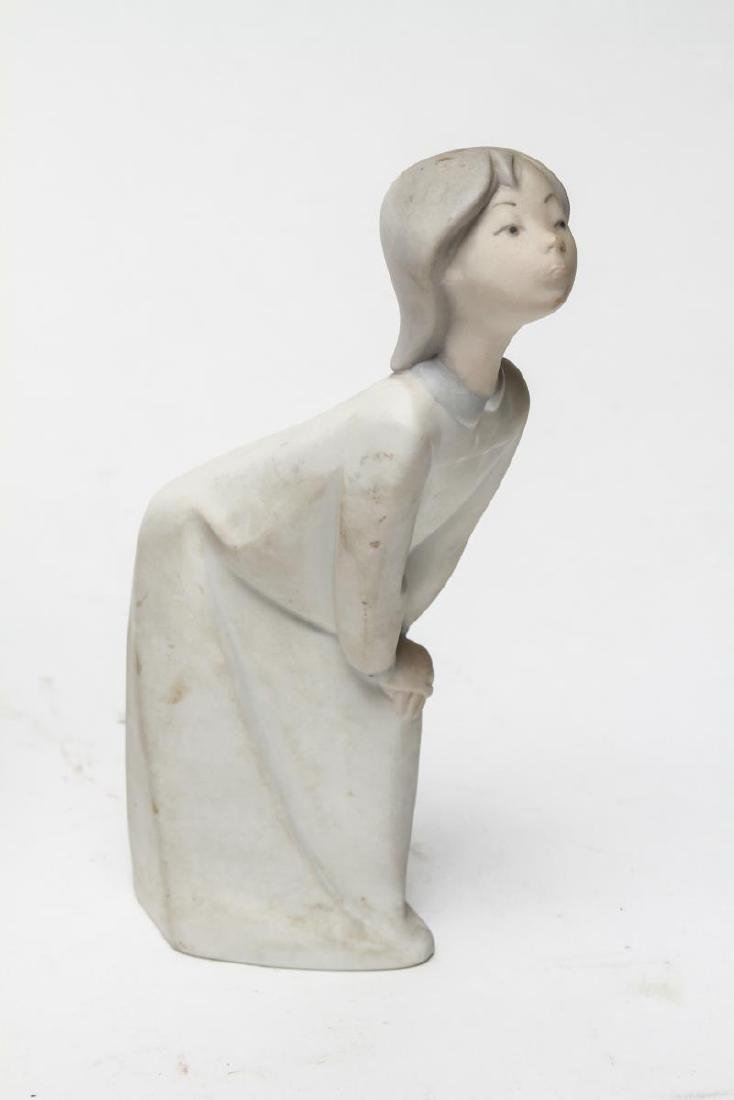 Lladro Porcelain Figurines, Group of 3 - 4