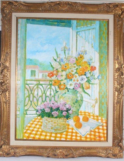 15: Scottish Artist W.Grimaud Still Life Painting