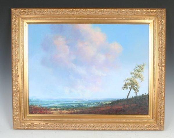 16: American Artist Thomas Toner Untitled Oil on Canvas