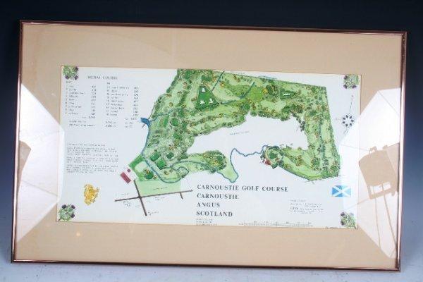 19: CGS Golf Course Map Print