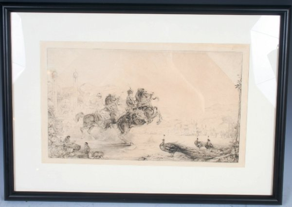 21: Early 20th C Persian/East Indian Untitled Print
