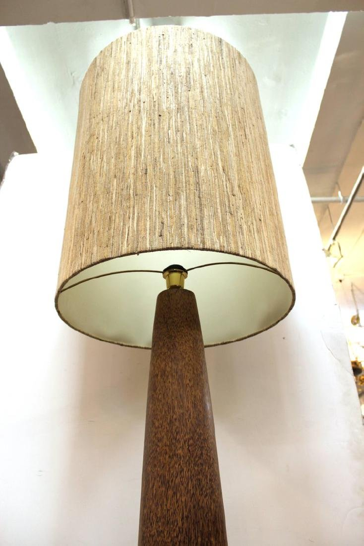 Monumental Composite Floor Lamp Mid-Century Modern - 5