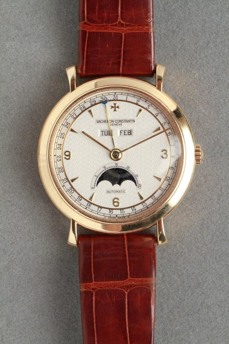 Vacheron Constantin 18K Yellow Gold Date Watch