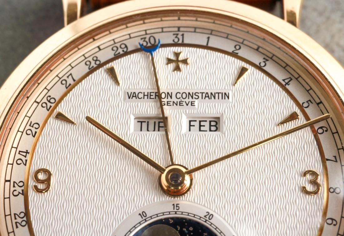 Vacheron Constantin 18K Yellow Gold Date Watch - 4
