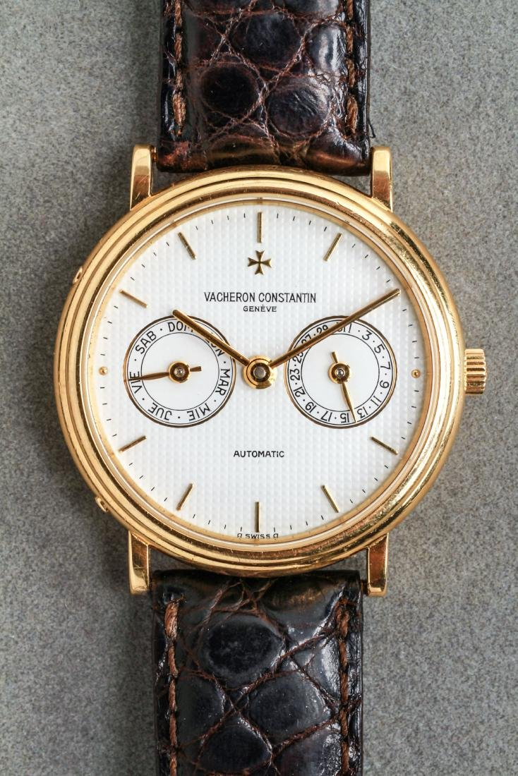 Vacheron Constantin 18K Gold Calendar Watch