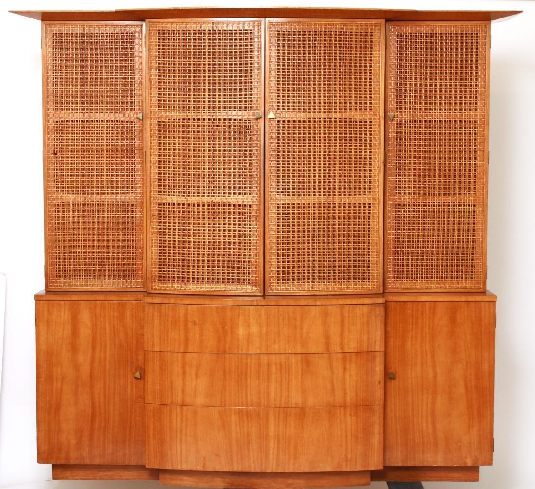T.H. Robsjohn-Gibbings Modern Breakfront Cabinet