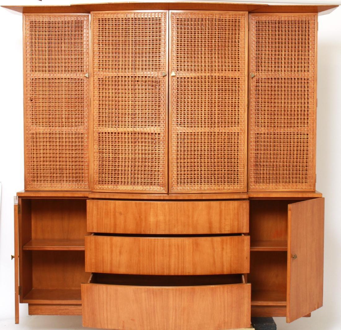 T.H. Robsjohn-Gibbings Modern Breakfront Cabinet - 8
